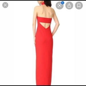 Cinq a sept nahla red dress